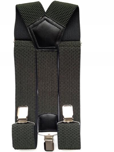 Подтяжки мужские джинсовые черные