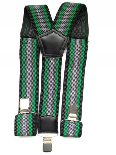 Подтяжки мужские джинсовые мульти