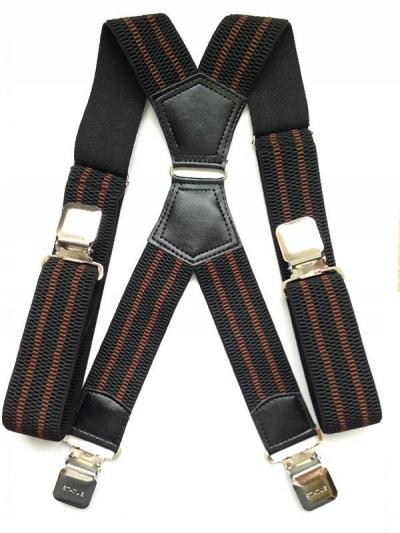 Подтяжки богатыри мужские текстильные