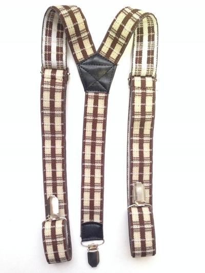 Подтяжки классические мульти цвета, текстильные матовые
