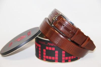 Мужской ремень Mario Pilli из натуральной кожи