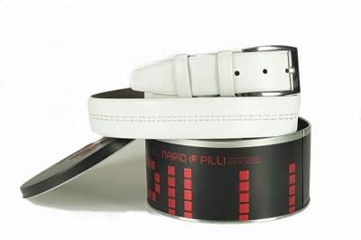 Подарочный ремень Mario Pilli из натуральной кожи MP329
