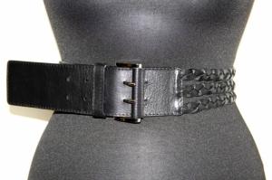 Ремень черный женский Sevaro Elit из натуральной кожи